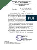 Surat Informasi LKS SMK 2018 Di Kab. Bekasi Dan Kota Bdg