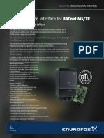 Cim 300 - Bacnet Ms-tp
