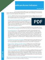 RPCAI Healthcare Access Indicators Nov 06[1]