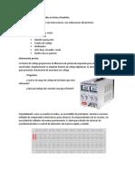 Electrónica - Practica Diodos en Serie y Paralelo