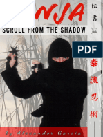 Ninja Ninjutsu martial arts  Scroll of the Shadow