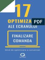 17 Optimizari Esentiale Din Finalizare Comanda Netlogiq