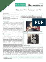 Austin Journal of Anesthesia and Analgesia