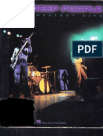 Deep Purple Greatest Hits transcribed score(pdf)