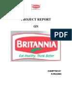 Project Report- Britannia
