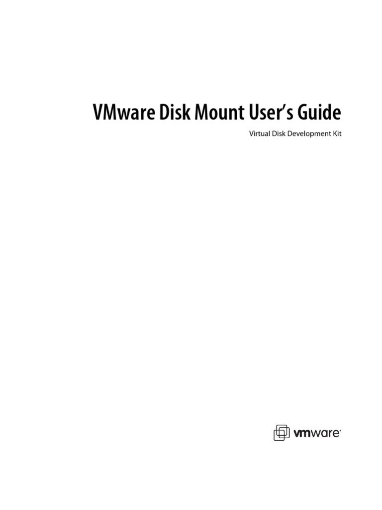 Vmware Disk Mount | V Mware | Virtual Machine