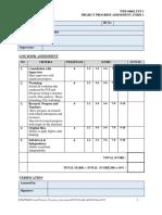 FORM 1 Progress Assessment