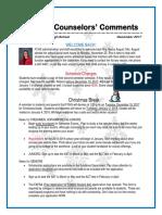 FCHS Guidance Newsletter