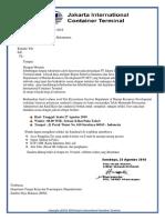 Surat Undangan Rekrutmen Tes  Seleksi Karyawan PT.Jakarta International Container Terminal(JICT)  SRBY..docx