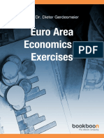 Euro Area Economics Exercises
