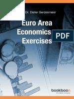 Euro Area Economics Exercises