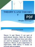 X & Y Theory