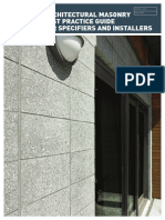 Architectural Masonry Best Practice Guide (1)