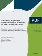 Las Brechas de Genero en Ciencia Tecnologia e Innovacion en America Latina y El Caribe
