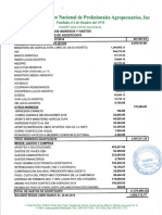 Informe Financiero ANPA, Agosto 2018