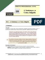 DPC 10 - A Sentença e a Coisa Julgada.pdf