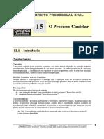 DPC 15 - O Processo Cautelar.pdf
