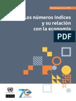 Cepal_Los Números Índices y Surelación Con La Economía