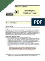 MLG 01 - Introdução à Medicina Legal