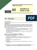 MLG 03 - Identificação Médico Legal
