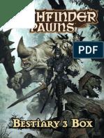 Pathfinder - Bestiary 3 Box - Biblioteca Élfica