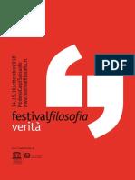 Festival filosofia 2018 - il programma completo