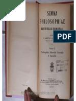 D-Summa Philosophiae Aristotelico-Thomisticae Vol2- Philos Naturalis Pirotta OP