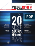 The 20 Most Rising Medical Institutes for 2018