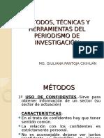 Metodos, Tecnicas y Herramientas Del Periodismo de Investigacion