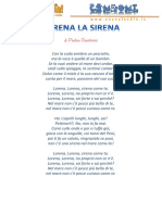 Lorena La Sirena