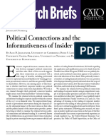 Political Connections and the Informativeness of Insider Trades
