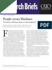 People versus Machines