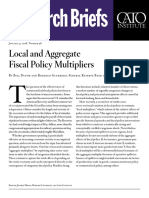 Local and Aggregate Fiscal Policy Multipliers