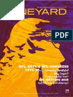 19 - CFFL The Vineyard Magazine Issue #19 (Apr-June 2018) - TVM19