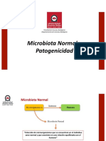 Clase 6 - Microbiota Normal y Patogenicidad