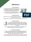 adolescence factsheet