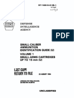 Small Arms Ammunition Identification Guide Volume 1
