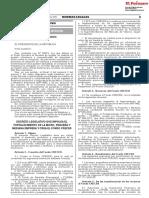 Decreto Legislativo que impulsa el fortalecimiento de la micro pequeña y mediana empresa y crea el Fondo CRECER