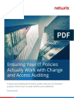 Ensuring That Your It Policies Work