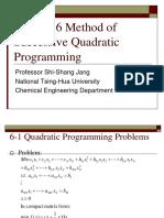 Successive Quadratic Programming