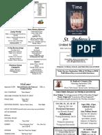 St Andrews Bulletin 090918
