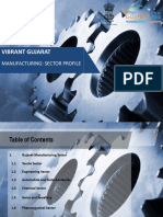 TextileVibrantGujarat Manufacturing Sector Profile