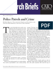 Police Patrols and Crime