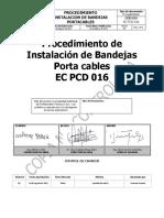Procedimiento de Instalación de Bandejas Porta Cables EC PCD 016