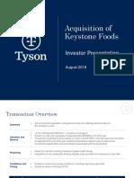 TSN Keystone Investor Presentation FINAL 2018