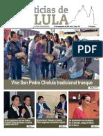 Noticias de Cholula del 10 de Septiembre 2018