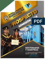 UNH Escuela de Posgrado - Prospecto Admisión 2018