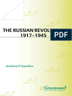 Anthony D'agostino-The Russian Revolution, 1917-1945 - D