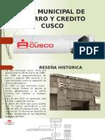 Caja Municipal de Ahorro y Credito Cusco Terminado