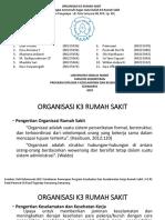 Kelompok 1_organisasi k3 Rs